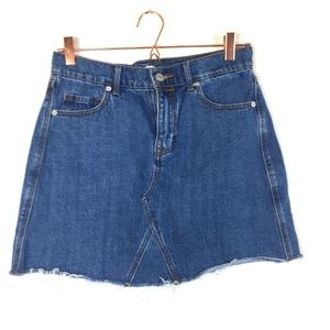 Old Navy Denim Skirt SZ 6 x/A